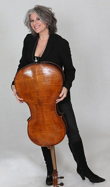 Morag with Cello